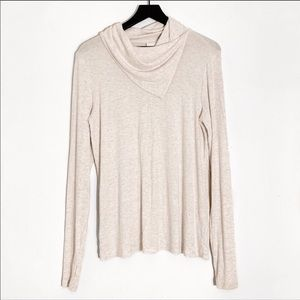 CAbi | Oatmeal Long Sleeve Sawyer Tee 3226 M